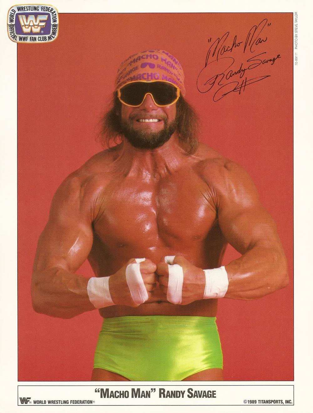 Macho Man Randy Savage _Fan Club_ 1989