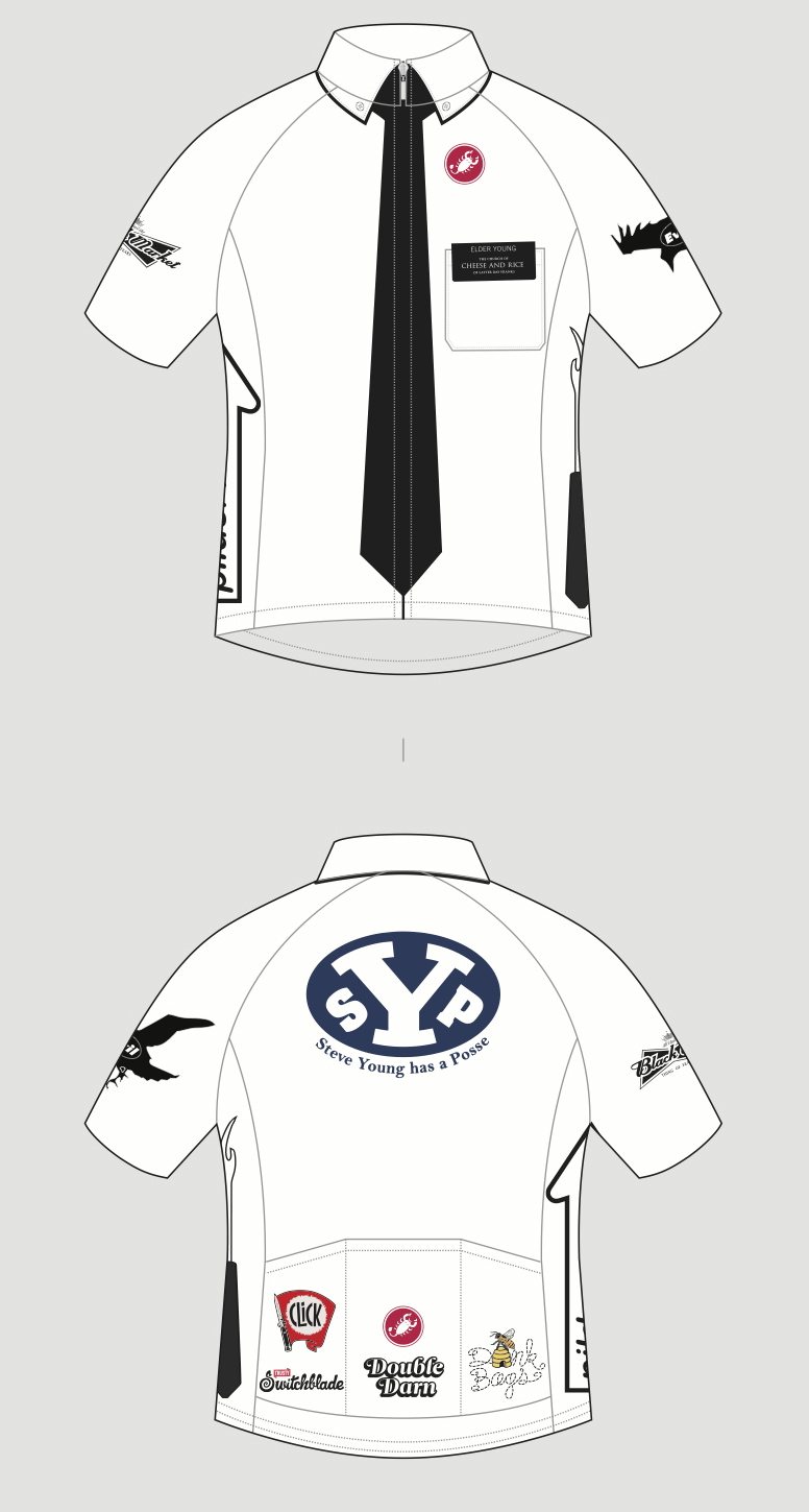 SYP - Castelli cycling kit